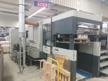 Bobst SP 102 CE, age 1988